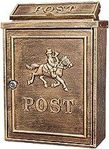 Brievenbus Letterboxen Letterbox Outdoor Regenwater Villa Mailbox Wandslot Postbox Grote Landelijke Creatieve Letter Box W...