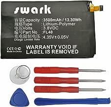 Swark New Replacement FL40 Battery Compatible with Motorola Droid Maxx 2 XT1565, Moto X Play 3A Dual XT1543 XT1544, Moto X Play XT1562 XT1563 SNN5963A with Tools kit