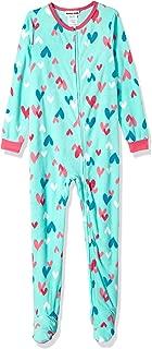 Girls' Big Plush Velour Fleece Footed Blanket Sleeper Pajama