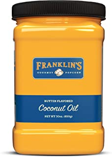Best coconut popping oil butter flavored Reviews
