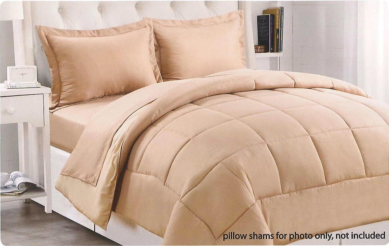 Dreamz étui Parure de lit super douce 350fils 100% coton 1couette courtepointe (100g m2 en fibre) empereur, pêche massif 350tc Doudou en coton égypcravaten