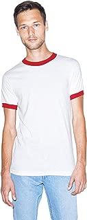 50/50 Crewneck Short Sleeve Ringer T-Shirt