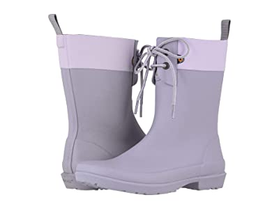 Bogs Flora 2-Eye Boot (Lilac) Women