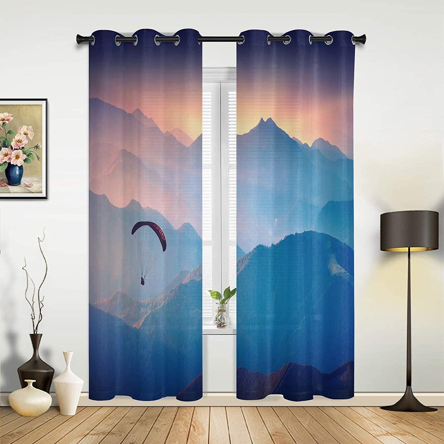 Beauty Decor Window Sheer Curtains overseas Portland Mall Living Bedroom Parag Room for