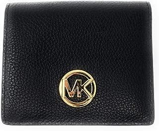 Michael Kors Fulton Carryall Card Case Small Wallet (Black)