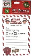 Christmas Elf Corner Reports- Pack of 25