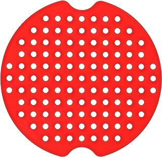 BESTonZON 1 tapis de cuisson perforé en silicone anti-adhésif pour friteuse (rouge)