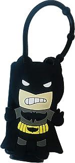 Hand Sanitizer Holder Cute Hero Inspired Hand Sanitizer Holder for Backpack, for 1 oz Bottle Case (Black)