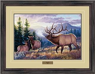 Reflective Art 80444ET 26x34 Bugle Boy, Dark Walnut Frame 26x34 Bugle Boy