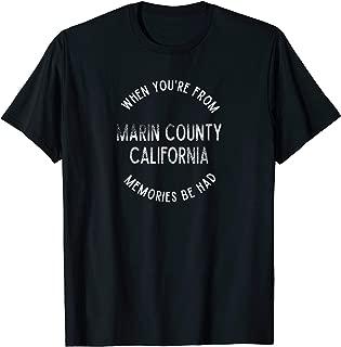 the county t shirt marin