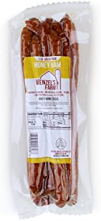 Wenzel's Farm Honey Ham Sticks - Gluten Free - No MSG - (1 LB Package)