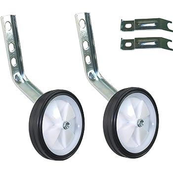 1 Set Stützräder für Kinderfahrräder von 12 bis 20 Zoll Raddurchmesser 125mm NEU