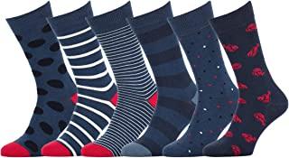 Calcetines Estampados Colores Brillantes Algodon Hombre Mujer