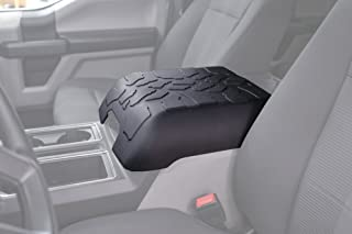 Boomerang Tire Tread Armpad for 2015-2020 Ford F150 - Center Console Armrest Cover