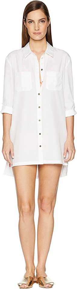 Maine Oversized Shirt Cover-Up