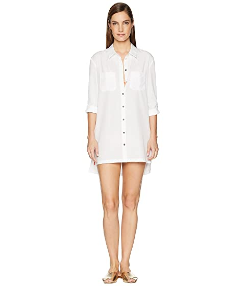 Heidi Klein Maine Oversized Shirt Cover-Up