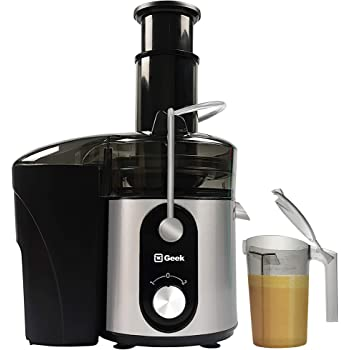 Geek Jooztra, 800 Watts Centrifugal Double Layered Juicer with Centritract Technology