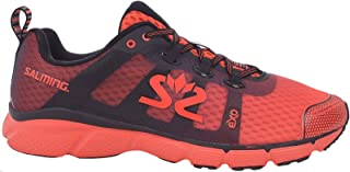 Salming Mens enRoute 2 Lightweight Running Sports Trainers - Orange - 9.5UK