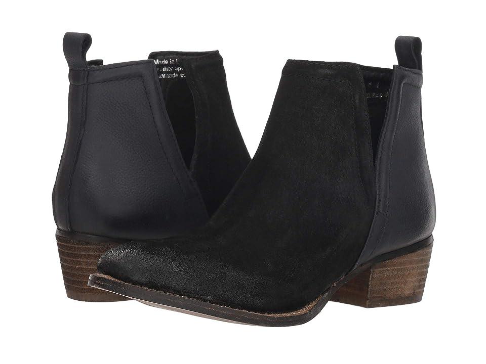 Diba True Stop By (Black Suede/Leather) Women
