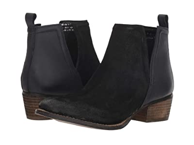 Diba True Stop By (Black Suede/Leather) Women
