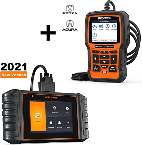 new arrival FOXWELL NT510 Elite OBD2 Code Reader for Honda Acura and FOXWELL popular discount NT716 OBD2 Scanner ABS/SRS/Engine/Transmission Diagnoses online