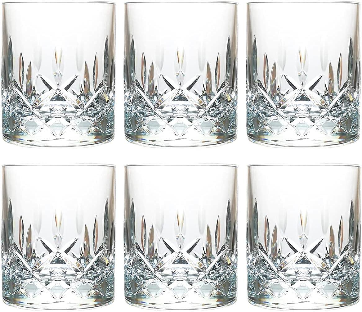 9 Max 82% OFF Oz Set of 6 Plastic Safe Drinking Sales results No. 1 Free BPA Dishwasher Glasses