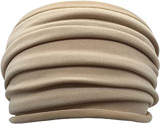 PPLAX Yoga Stirnband Stirnband Sportzubehör Weiche elastische Weite Yoga Stirnband Weiche Rohr Kopfband Feste Farbe Yoga S...