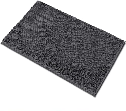 MAYSHINE Luxury Chenille Bath Mats for Bathroom Rugs Soft, Absorbent, Shaggy Microfiber,Machine-Washable, Perfect for...