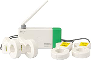 Square D by Schneider Electric WISEREMPV Energy Monitor System, White