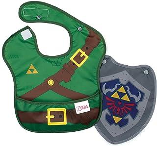 Bumkins Nintendo Zelda SuperBib, Baby Bib, With Cape...