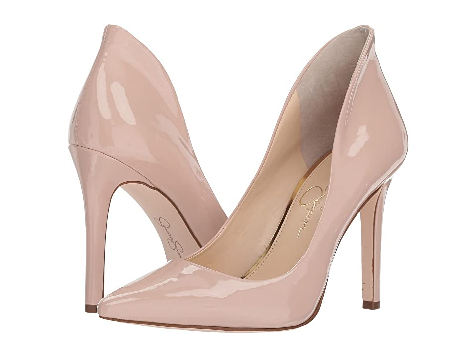 Jessica Simpson Cambredge (Nude Blush Patent) High Heels