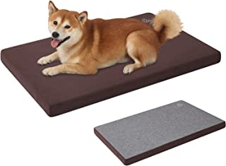 VANKEAN Stylish Reversible Dog Crate Mat (Cool and Warm), Water Proof Linings, Dog Mat for Small to XX-Large Dogs, Removab...