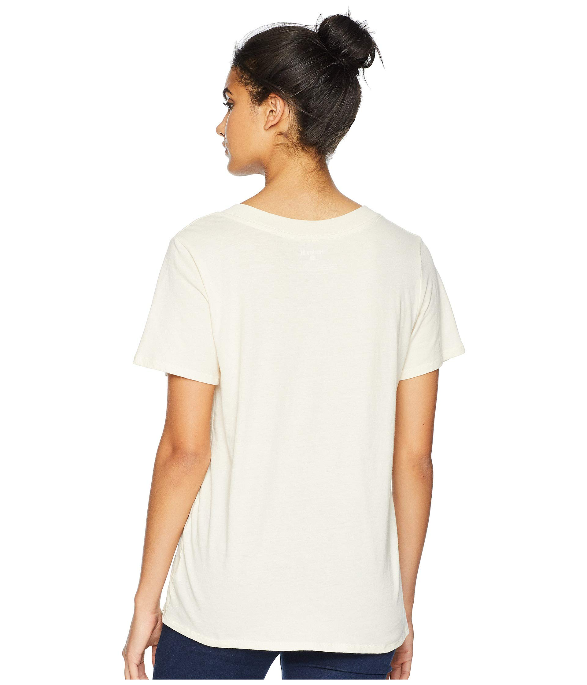 Light Hurley Short Perfect V Cream Sleeve Tee rr81wP