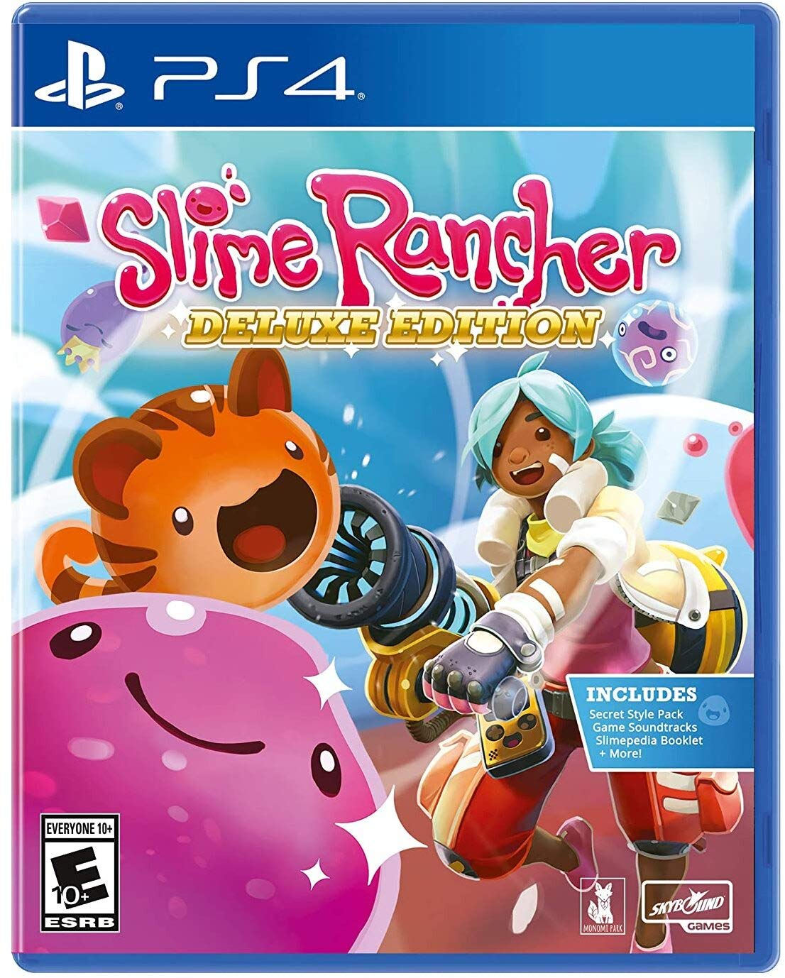 Max 88% OFF Slime Rancher: Deluxe Edition 4 - PlayStation Houston Mall