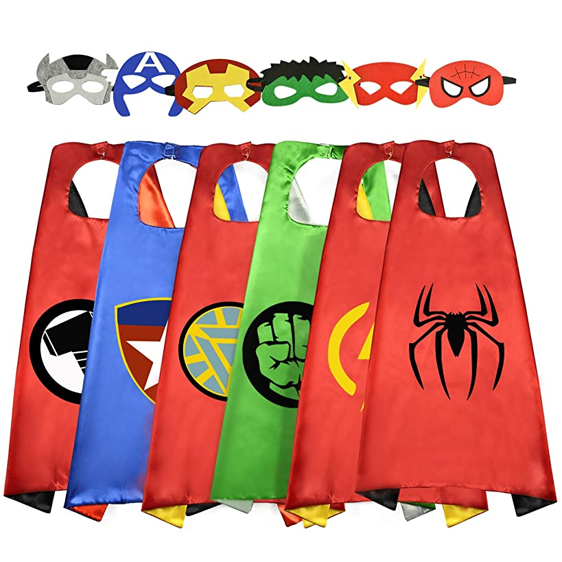 Easony Fun Cartoon Capes for Kids - Best Gifts