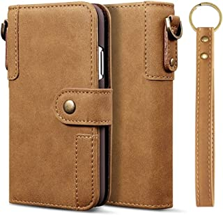 For Huawei P20 Pro Cowhide Texture Horizontal Flip Leather Case, with Holder & Card Slots & Wallet & Lanyard New (Black) Lipangp (Color : Brown)