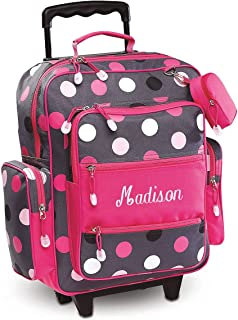 Best monogrammed rolling luggage Reviews