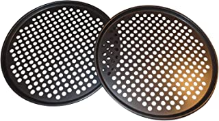 Pack of 2 Pizza Pans with holes 13 inch – Professional set for restaurant type..