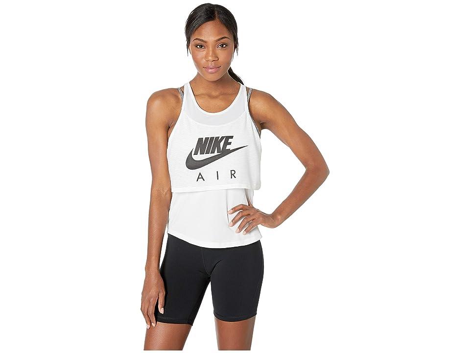 Nike Air Tank Graphic (White/Black) Women