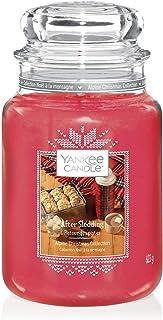 Yankee Candle bougie jarre parfumée, grande taille, Retour des pistes, collection Noël alpin, jusqu'à 150heures de combus...