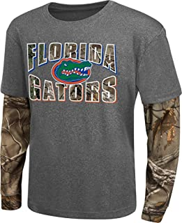 Youth Camo Layered University of Florida Gators Long Sleeve Tee
