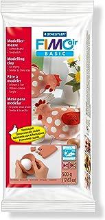 Staedtler 8100-76 Pasta para modelar de secado al aire Fimo air basic Una pastilla de color rojo