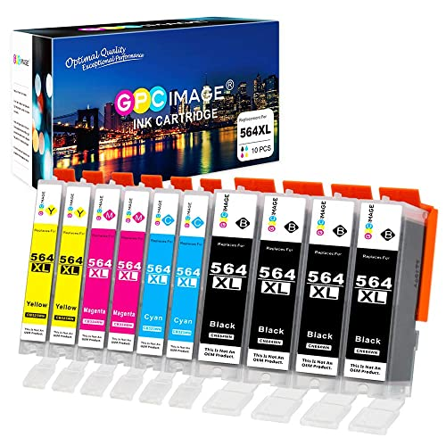 Set of HP 564xl  Black Cyan Magenta Yellow New Generation Ink Cartridges Genuine
