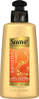 Suave Professionals Leave-in Conditioner Keratin Infusion Heat Defense 5.1 Fl Oz (Pack of 3)