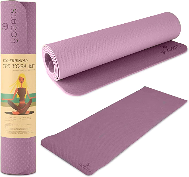 Austin Mall Max 81% OFF Yogats Eco - Friendly Yoga Mat Non Premium P Waterproof Slip