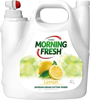 Morning Fresh Lemon Dishwashing Liquid, Lemon 4 liters