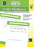 Carson Dellosa | Singapore Math Challenge Word Problems Workbook | Grades 4–6, Printable