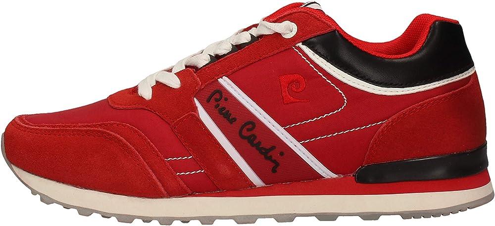 Pierre cardin, scarpe, sneakers per uomo,eco pelle scamosciata 20914_3-6,4-29