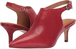 Cherry Red Leather