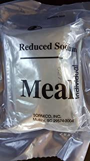 2019 MRE Spaghetti with Beef and Sauce Meals Ready To Eat Sopakco Sure Pack Reduced Sodium Survival Food Storage Military Grade - Buy 3 Get 1 Free